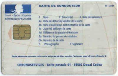 La Carte Conducteur